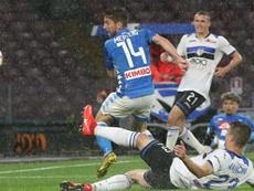 Mancini pourrait être de la Roma ce lundi. EFE