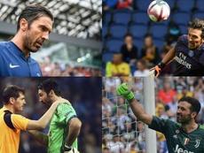 Buffon a agrandi sa légende. EFE/AFP