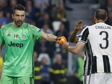 Buffon and Chiellini are apparently close to renewing their contracts. AFP