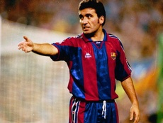 Hagi rememora el fútbol de antes.