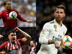 Una agenda con cuatro favoritos por si toca sustituir a Ramos. Montaje/EFE/AFP