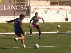 Rossi y Alberto Moreno, novedades en el Villarreal. Captura/VillarrealCF