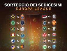 Il sorteggio dei sedicesimi di Europa League. BeSoccer
