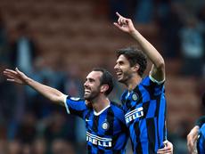 L'Inter célèbre déjà son 'Pharaon'. Twitter/Inter