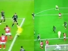 El héroe de Lieja: el Standard sacó un punto... ¡con un gol del portero! Captura/Eleven