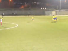 Goalie scores stoppage-time winner. Twitter/HaringeyBoroFC