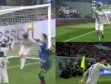 Le but de Cristiano pour la Juventus. Capture/Gol