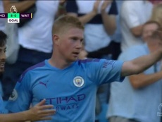 De Bruyne makes it 8-0. Screenshot/DAZN
