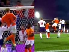 De Ligt restabeleceu o empate no marcador. Captura/DirecTV