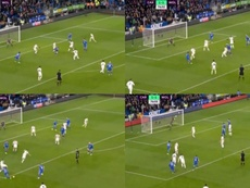 Hoilett anotó un gran gol. Captura/Movistar