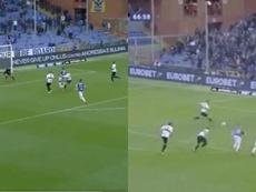 Du but de Zapata à celui de Quagliarella : duel pour le 'Capocannoniere'. Captures/ElevenSports
