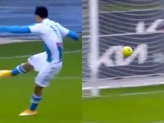 Chucky scores third fastest goal in Serie A history. Screenshots/MovistarLigadeCampeones