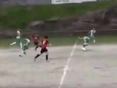 En el fútbol modesto también hay goles a lo Messi. Youtube