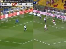 Quatre buts, un rouge et un penalty en 45 minutes. Capturas/beINSports