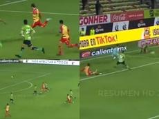 Un añadido de locura: tres goles en cinco minutos. Captura/TUDN