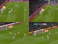 El 'Baby Liverpool' se llevó un 4-0 en 45 minutos. Captura/DAZN