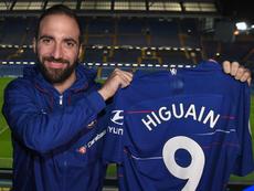 Higuaín ya es del Chelsea. ChelseaFC