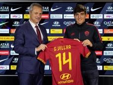 Gonzalo Villar firma por la Roma hasta 2024. OfficialASRoma