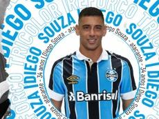 Diego Souza dio positivo. Gremio