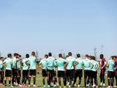 A comitiva portuguesa já está em Zenica. Twitter