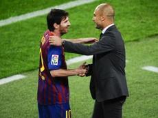 Guadiola vuole Messi al City. Twitter
