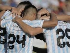 Guaireña se cuela en la élite de Paraguay. GuaireñaFC