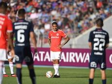 Paolo Guerrero é um dos artilheiros do Inter e do Peru na Libertadores. Twitter Internacional