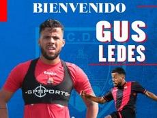 Gus Ledes llega para reforzar el centro del campo numantino. CDNumancia