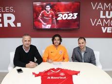 Nonato seguirá en el club hasta 2023. SportClubInternacional
