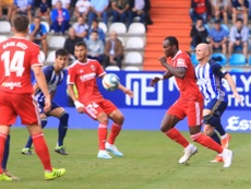 Kagawa y Pablo Valcarce anotaron los dos goles del partido. RealZaragoza