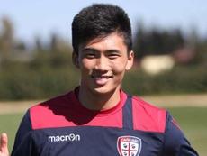 Han Kwang-Song está emprestado ao Peruggia, pelo Cagliari. Cagliari