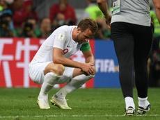 Harry Kane habló de la posibilidad de abandonar el Tottenham. AFP