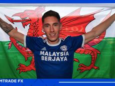 Harry Wilson, al Cardiff City. Twitter/CardiffCityFC