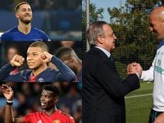 2 bilhões por Mbappé, Pogba e Hazard. BeSoccer/EFE/AFP