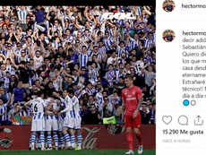 Héctor Moreno se despidió de la Real Sociedad por Instagram. Instagram/hectormorenoh