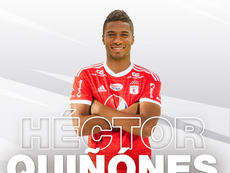 Héctor Quiñones, nuevo jugador de América de Cali. AmericadeCali