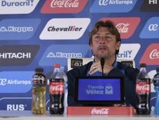 Heinze abrió la posibilidad en rueda de prensa a la vuelta de Fernando Gago. Twitter/Velez
