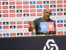 O treinador da equipa B do Benfica: Hélder Cristóvão. SLBenfica