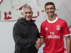 O novo contrato de Henrique Araújo vale até junho de 2024. SLBenfica