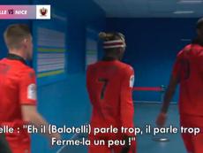 Hérelle répond à Balotelli. Capture/J+1 de Canal +