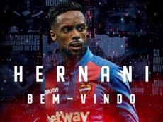 Hernâni foi contratado pelo Levante após término do vínculo com o Porto. LevanteUD