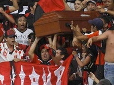 Aficionados de Sao Paulo, descontentos con la situación del equipo. Twitter