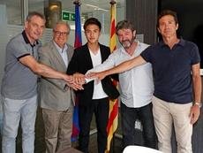 Hiroki Abe est à Barcelone. FCBarcelona