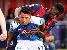 Gattuso vuole trattenere Lozano. EFE