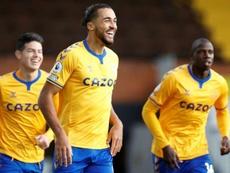 Everton retrouve le sourire à Craven Cottage. AFP
