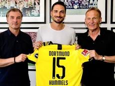 Hummels portera son ancien numéro à Dortmund. Twitter/BVB