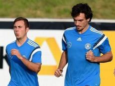 Götze podría volver a la Selección. AFP