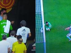 El Mallorca goleó al Celta 5-1. Twitter/CésarVargas