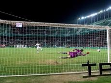 El motivo por el que Herrerín paró el penalti. AthleticClub