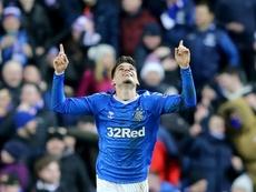 Ianis Hagi brilla con el Rangers, sobre todo en Europa League. EFE